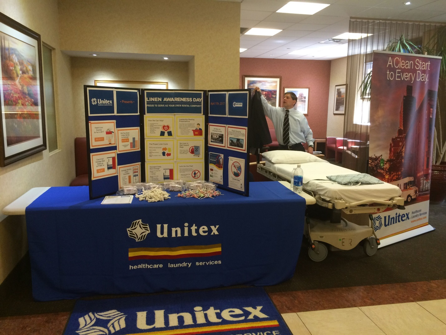 linen awareness day jhmc 2017 medisys health network